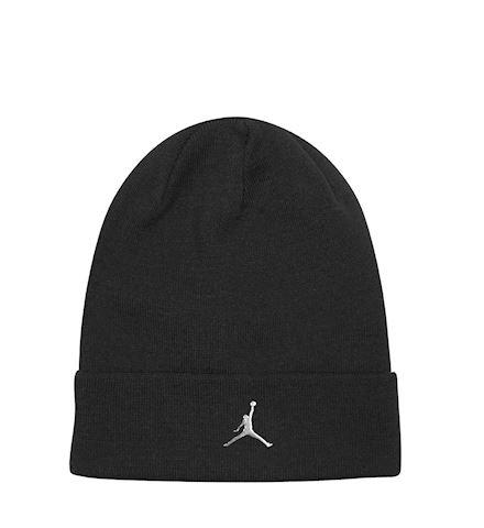218c4a37a0 Nike Jordan Cuffed Beanie - Black | AA1297-010 | FOOTY.COM