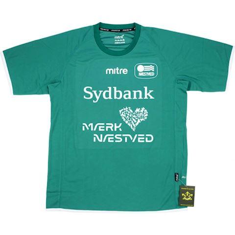 Mitre Naestved BK Mens SS Home Shirt 2014/15 Image