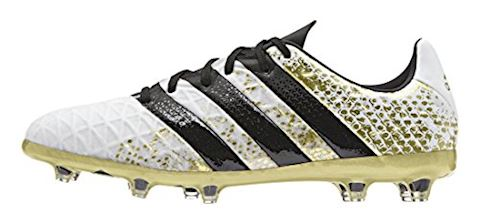 adidas Kids ACE 16.1 FG AG White Core Black Gold Metallic Image