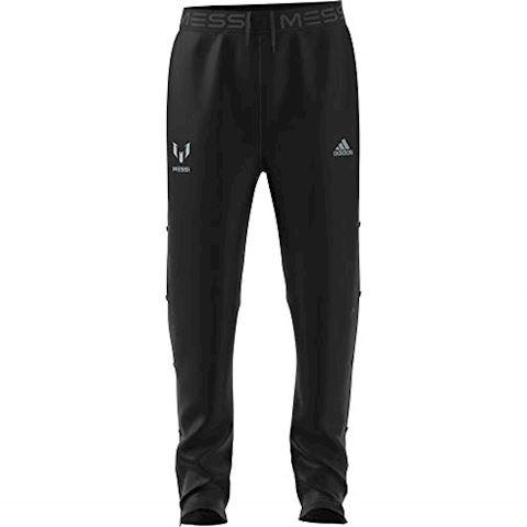 adidas Training Trousers Messi Knit Strike - Black Kids Image 2