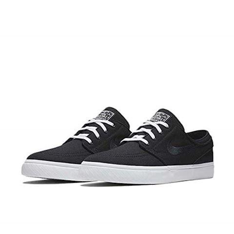 Nike SB Zoom Stefan Janoski Canvas Men's Skateboarding Shoe - Black Image 2