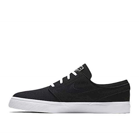 Nike SB Zoom Stefan Janoski Canvas Men's Skateboarding Shoe - Black Image 3
