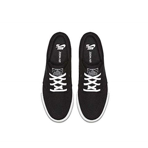 Nike SB Zoom Stefan Janoski Canvas Men's Skateboarding Shoe - Black Image 4