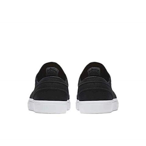 Nike SB Zoom Stefan Janoski Canvas Men's Skateboarding Shoe - Black Image 5