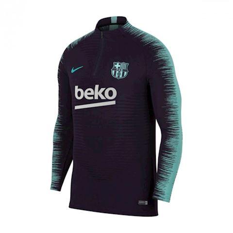Nike FC Barcelona VaporKnit Strike Drill Men's Long-Sleeve Football Top - Purple Image