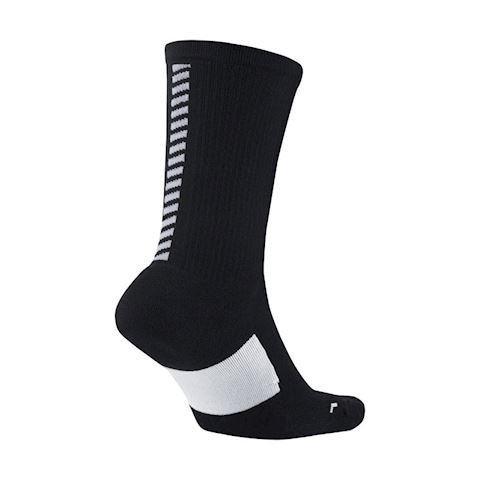 Nike Elite Cushion Crew Running Socks - Black Image