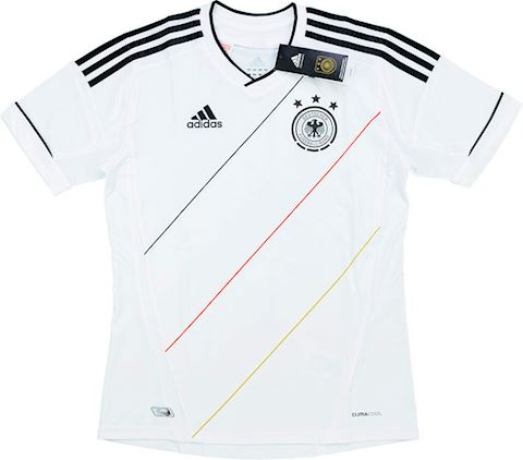 adidas Germany Kids SS Home Shirt 2012 Image