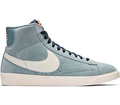 Nike W Blazer Mid Vintage Suede Aviator Grey Sail Monsoon Blue | Footshop