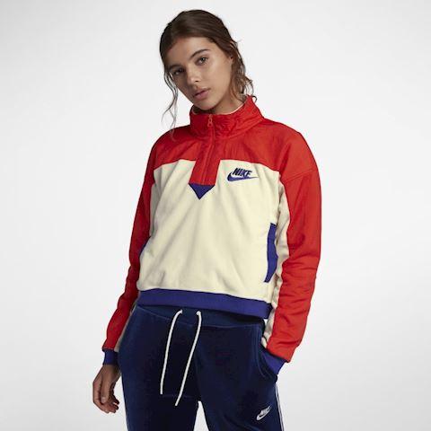 Nike Sportswear Women's Half-Zip Top - Cream Image