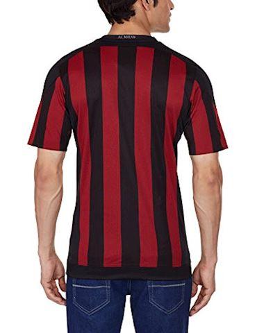 adidas AC Milan Mens SS Home Shirt 2015/16 Image 2