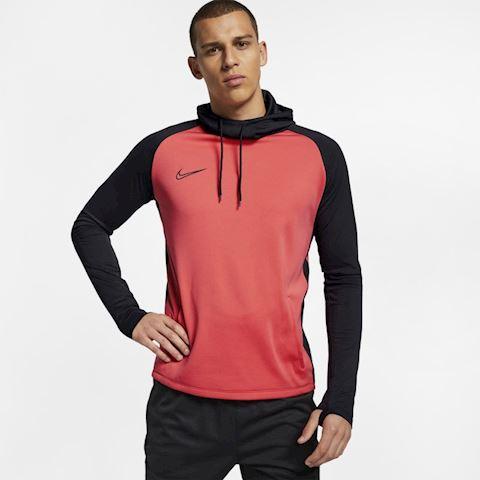 1e3b4eba Nike Dri-FIT Academy Men's Football Pullover Hoodie - Red | AJ9704 ...