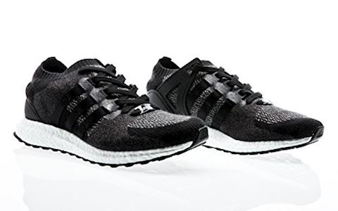 adidas EQT Support Ultra Primeknit Mens Trainers Black/White Image 2