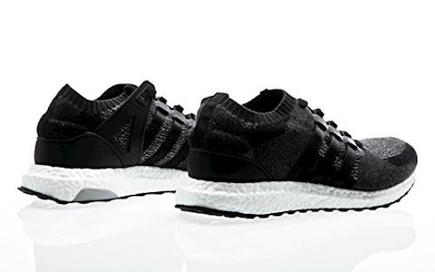 adidas EQT Support Ultra Primeknit Mens Trainers Black/White Image 3
