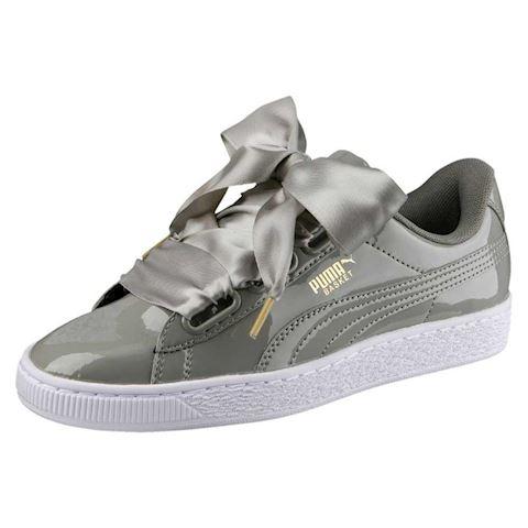Puma Basket Heart Patent Women's Sneakers Image