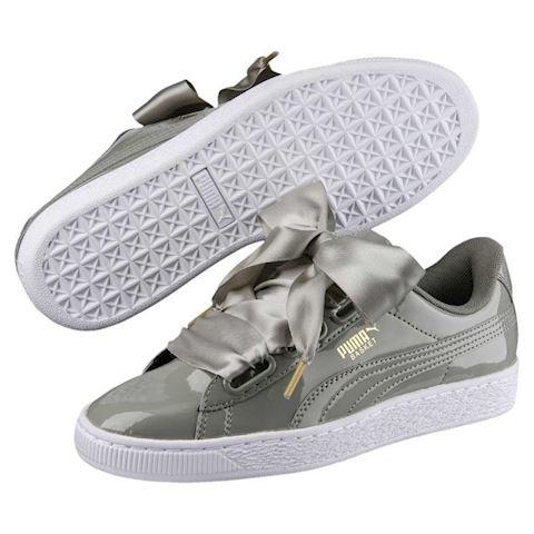 Puma Basket Heart Patent Women's Sneakers Image 2