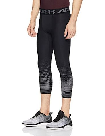 Under Armour Men's HeatGear Armour Graphic ¾ Leggings Image 3