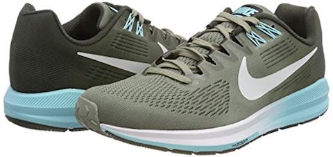 Nike Air Zoom Structure 21 Women's Running Shoe - Grey Image 11
