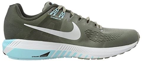 Nike Air Zoom Structure 21 Women's Running Shoe - Grey Image 12