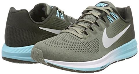 Nike Air Zoom Structure 21 Women's Running Shoe - Grey Image 5