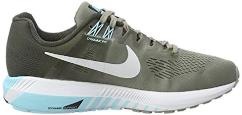 Nike Air Zoom Structure 21 Women's Running Shoe - Grey Image 6