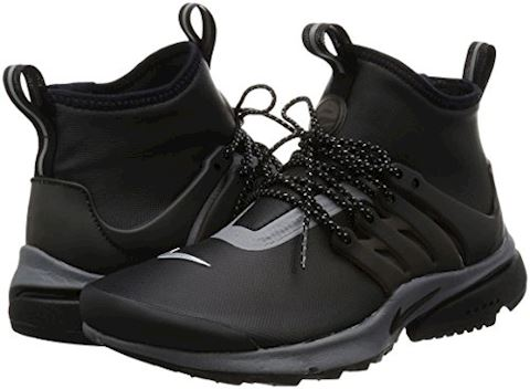 Nike Air Presto Utility Mid Womens Trainers Black Image 5