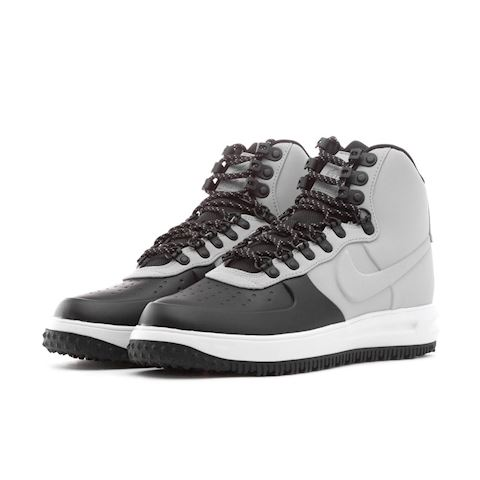 97423231483 Nike Lunar Force 1 Duckboot  18 Black  Wolf Grey-Pure Platinum Image
