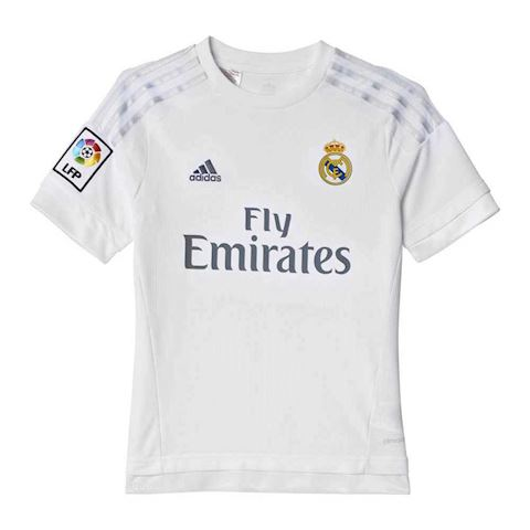san francisco 6c65f f3a65 adidas Real Madrid Kids SS Home Champions League Shirt 2015/16