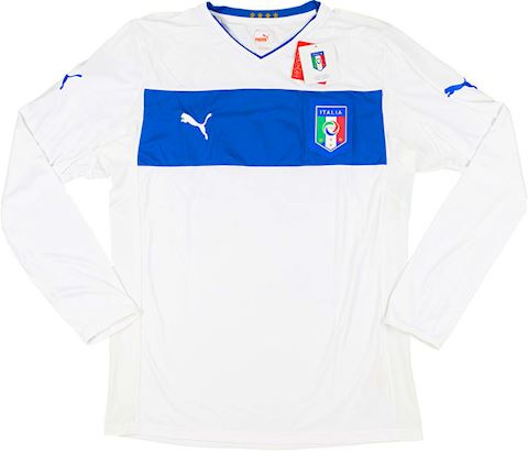 Puma Italy Mens LS Player Issue Away Shirt 2012 Image