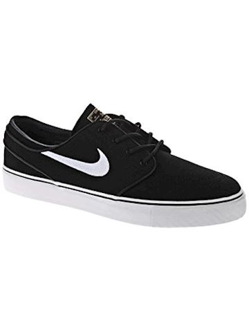 Nike SB Zoom Stefan Janoski Canvas Men's Skateboarding Shoe - Black Image