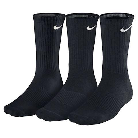 Nike Cotton Cushion Crew Socks (3 Pair) - Black Image