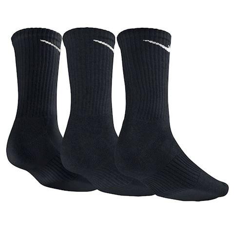 Nike Cotton Cushion Crew Socks (3 Pair) - Black Image 2