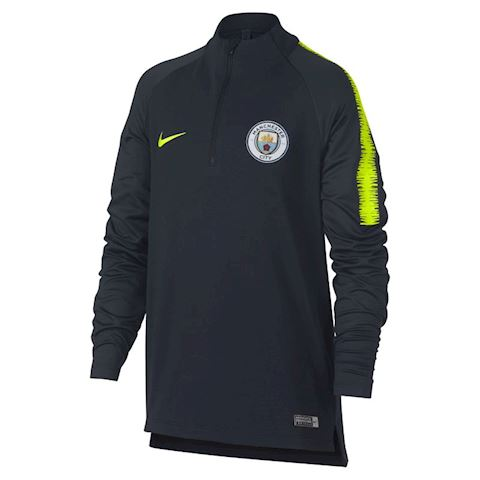 Nike Manchester City FC Dri-FIT Squad Drill Older Kids' Long-Sleeve Football Top - Blue Image