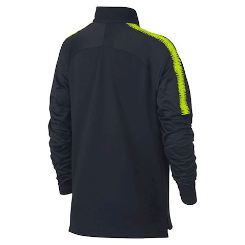 Nike Manchester City FC Dri-FIT Squad Drill Older Kids' Long-Sleeve Football Top - Blue Image 2