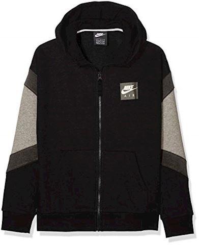 Nike Air Older Kids'(Boys') Full-Zip Hoodie - Black Image