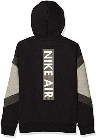 Nike Air Older Kids'(Boys') Full-Zip Hoodie - Black Image 2