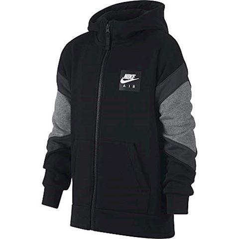 Nike Air Older Kids'(Boys') Full-Zip Hoodie - Black Image 3