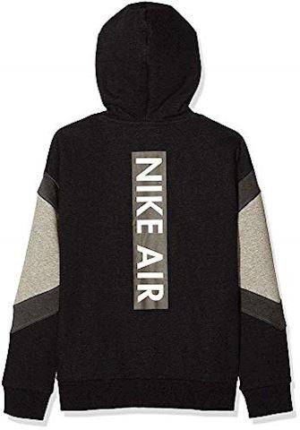Nike Air Older Kids'(Boys') Full-Zip Hoodie - Black Image 4