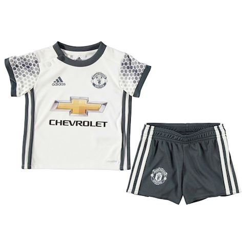 638cd5ba609 adidas Manchester United Baby SS Third Mini Kit 2016 17 Image