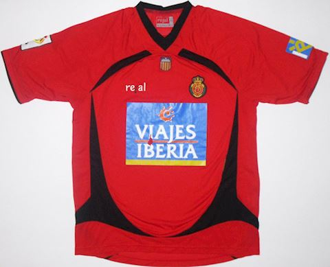 Mallorca Mens SS Home Shirt 2007/08 Image 2