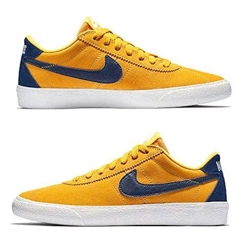 Nike SB Bruin Low Women's Skateboarding Shoe - Yellow Image 6