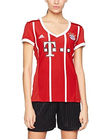 adidas Bayern Munich Womens SS Home Shirt 2017/18 Image