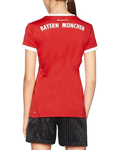 adidas Bayern Munich Womens SS Home Shirt 2017/18 Image 2
