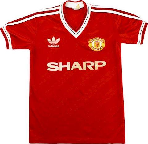 adidas Manchester United Mens SS Home Shirt 1986/88 Image