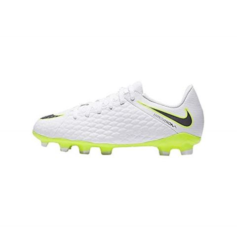 Nike Jr. Hypervenom Phantom III Academy Younger/Older Kids'Firm-Ground Football Boot - White Image