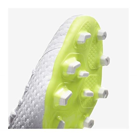 Nike Jr. Hypervenom Phantom III Academy Younger/Older Kids'Firm-Ground Football Boot - White Image 3