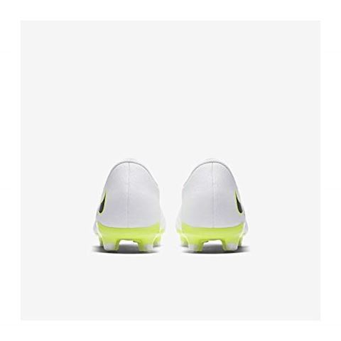 Nike Jr. Hypervenom Phantom III Academy Younger/Older Kids'Firm-Ground Football Boot - White Image 5