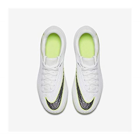Nike Jr. Hypervenom Phantom III Academy Younger/Older Kids'Firm-Ground Football Boot - White Image 7