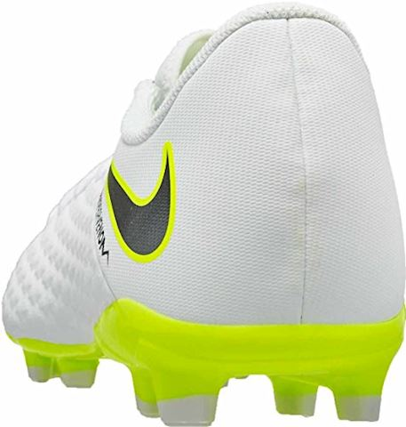 Nike Jr. Hypervenom Phantom III Academy Younger/Older Kids'Firm-Ground Football Boot - White Image 10