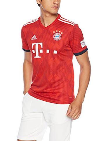 adidas Bayern Munich Mens SS Home Shirt 2018/19 Image