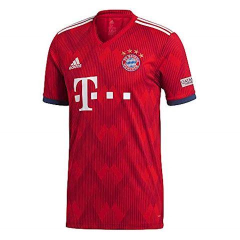 adidas Bayern Munich Mens SS Home Shirt 2018/19 Image 4